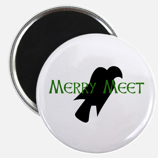 Merry Meet Spirit Eagle Magnet