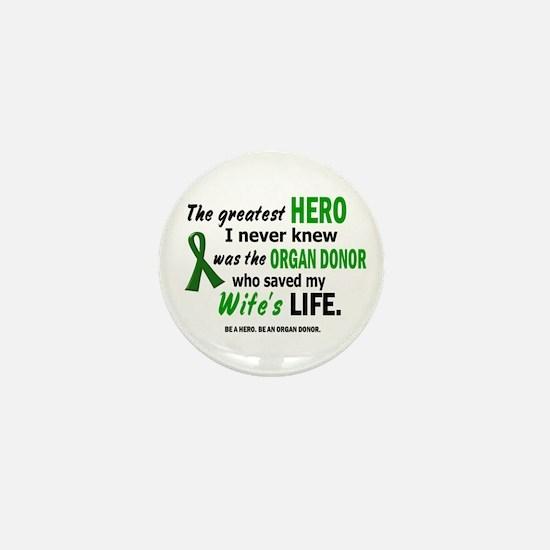 Hero I Never Knew 1 (Wife) Mini Button