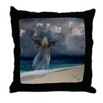 Wings of the Wind : Angel : Throw Pillow