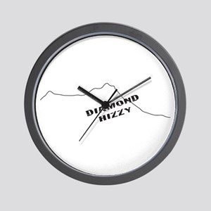 Diamond Hizzy Wall Clock