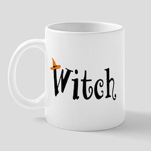 Witch (Orange Hat) Mug