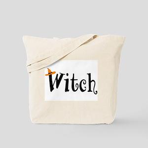 Witch (Orange Hat) Tote Bag