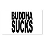 Buddha Sucks Rectangle Sticker 50 pk)