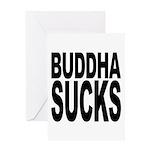 Buddha Sucks Greeting Card