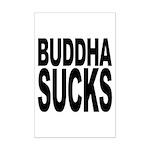 Buddha Sucks Mini Poster Print