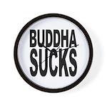 Buddha Sucks Wall Clock