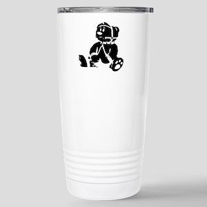 CARTOON LEATHER CUB Stainless Steel Travel Mug
