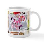 """I'm Edgy And Veggie"" Mugs"