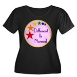 """Different Is Normal"" Women's Plus Size"
