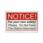 Notice / D.A. Rectangle Magnet (100 pack)