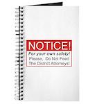 Notice / D.A. Journal