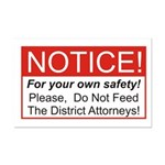 Notice / D.A. Mini Poster Print