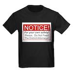 Notice / D.A. Kids Dark T-Shirt