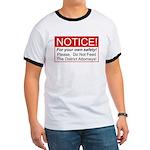 Notice / D.A. Ringer T