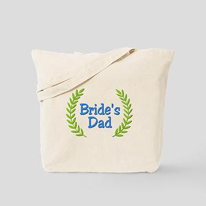Bride's Dad (ferns) Tote Bag