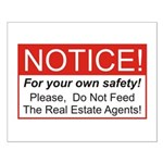 Notice / Real Estate Small Poster
