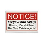 Notice / Real Estate Rectangle Magnet (10 pack)