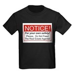 Notice / Real Estate Kids Dark T-Shirt