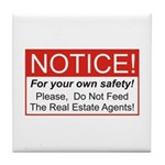 Notice / Real Estate Tile Coaster