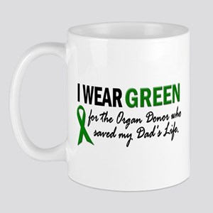 I Wear Green 2 (Dad's Life) Mug