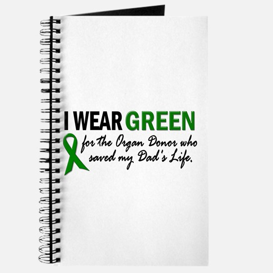 I Wear Green 2 (Dad's Life) Journal