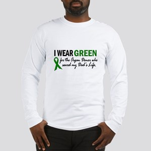 I Wear Green 2 (Dad's Life) Long Sleeve T-Shirt