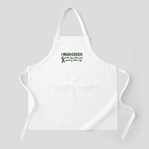 I Wear Green 2 (Dad's Life) BBQ Apron