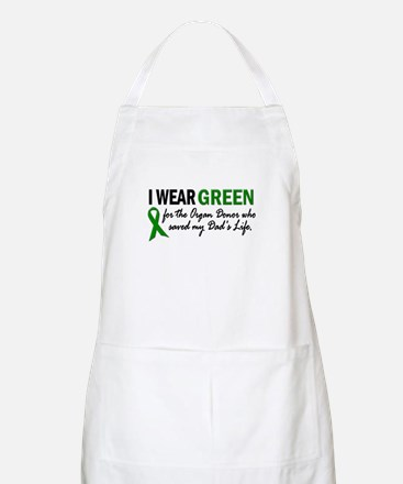 I Wear Green 2 (Dad's Life) BBQ Apron