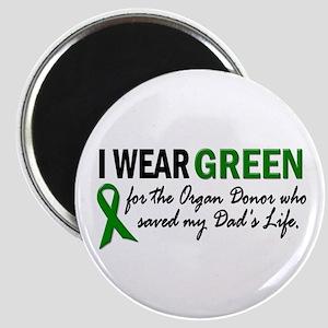 I Wear Green 2 (Dad's Life) Magnet