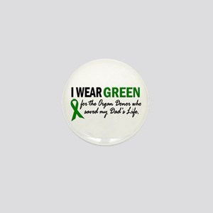 I Wear Green 2 (Dad's Life) Mini Button