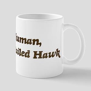 Half-Red-Tailed Hawk Mug
