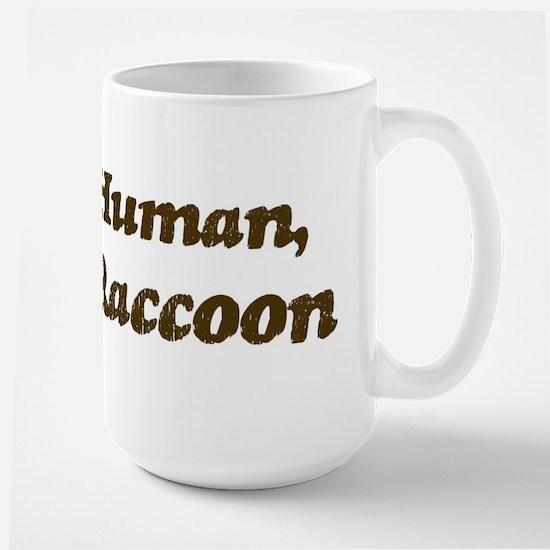 Half-Raccoon Large Mug
