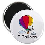 BusyBodies Hot Air Balloon Magnet