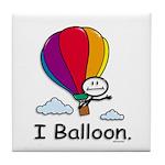 BusyBodies Hot Air Balloon Tile Coaster