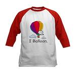BusyBodies Hot Air Balloon Kids Baseball Jersey