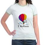 BusyBodies Hot Air Balloon Jr. Ringer T-Shirt