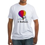 BusyBodies Hot Air Balloon Fitted T-Shirt