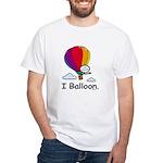 BusyBodies Hot Air Balloon White T-Shirt