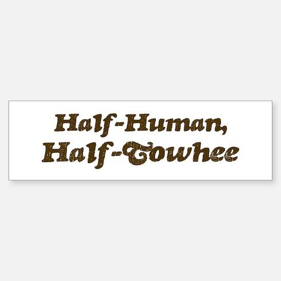 Half-Towhee Bumper Bumper Bumper Sticker