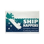 """Ship Happens!"" Refrigerator Magnet"