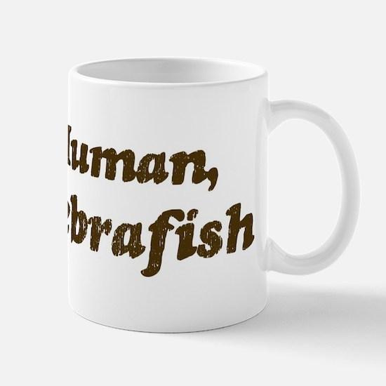 Half-Zebrafish Mug