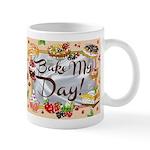 """Bake My Day"" Mugs"