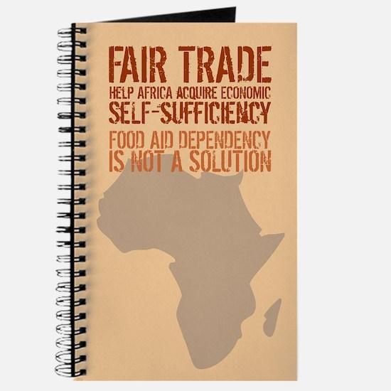 Fair Trade Notebook / Journal