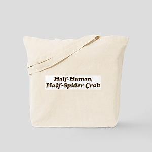 Half-Spider Crab Tote Bag
