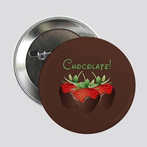 """Chocolate Lovers 2.25"""" Button"""