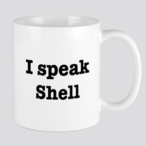 I speak Shell Mug