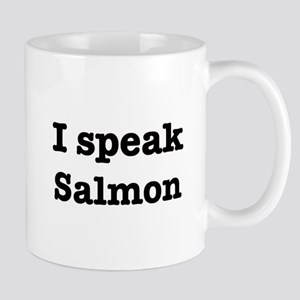 I speak Salmon Mug