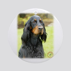 Gordon Setter 9T012D-135 Ornament (Round)