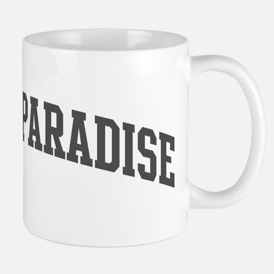 Bird Of Paradise (curve-grey) Mug