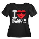 I LOVE ORANGE COUNTY Plus Size T-Shirt